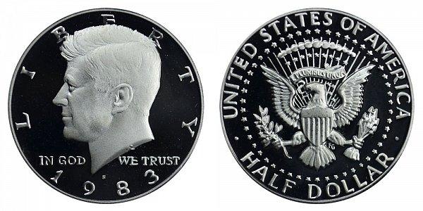 1983 S Kennedy Half Dollar Proof