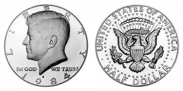 1984 S Kennedy Half Dollar Proof