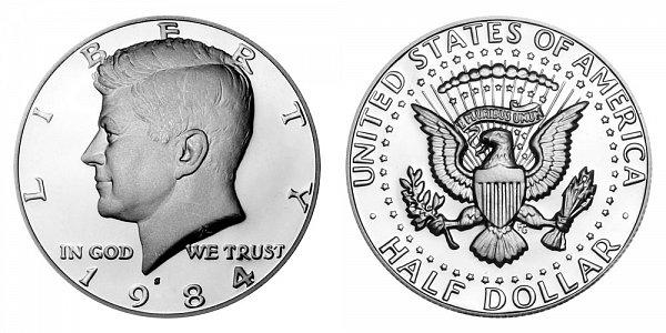 1984 S Kennedy Half Dollar Proof