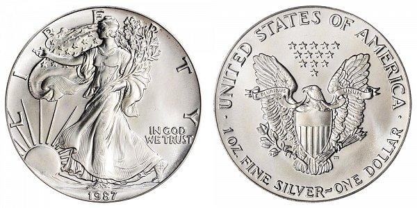 1987 American Silver Eagle