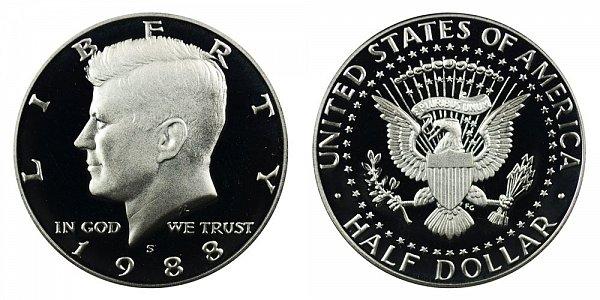 1988 S Kennedy Half Dollar Proof