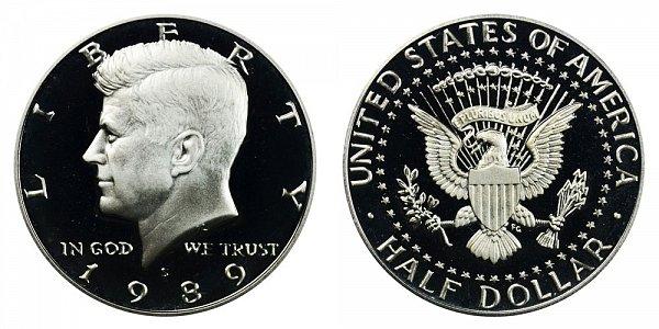 1989 S Kennedy Half Dollar Proof