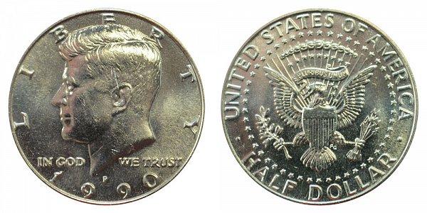 1990 P Kennedy Half Dollar