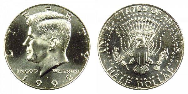 1992 P Kennedy Half Dollar