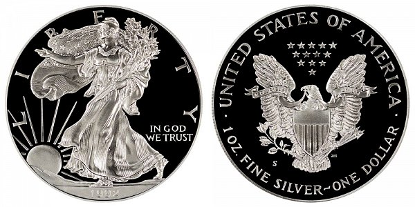 1992 S Proof American Silver Eagle
