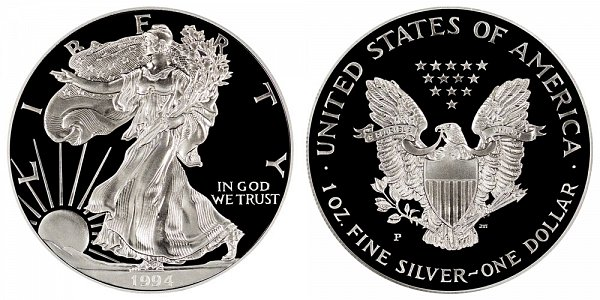 1994 P Proof American Silver Eagle