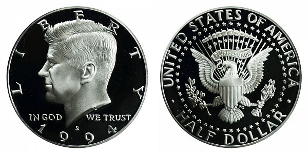 1994 S Kennedy Half Dollar Proof