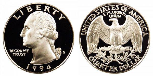 1994 S Washington Quarter Proof
