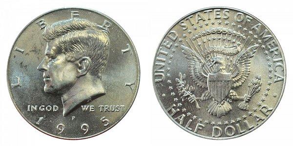 1995 P Kennedy Half Dollar