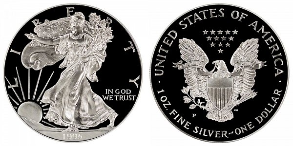 1995 P Proof American Silver Eagle