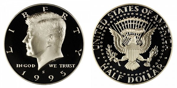 1995 S Silver Kennedy Half Dollar Proof