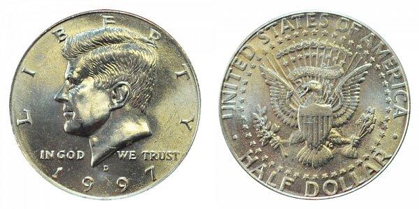 1997 D Kennedy Half Dollar