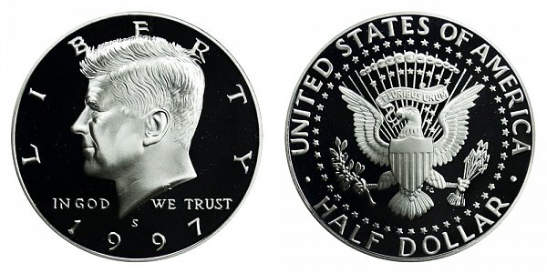 1997 S Kennedy Half Dollar Proof