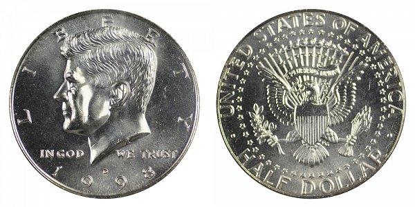 1998 D Kennedy Half Dollar
