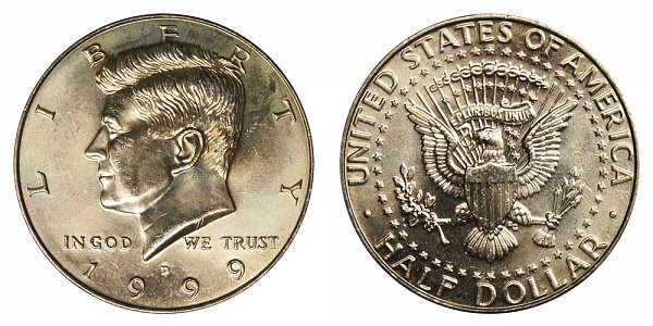 1999 D Kennedy Half Dollar