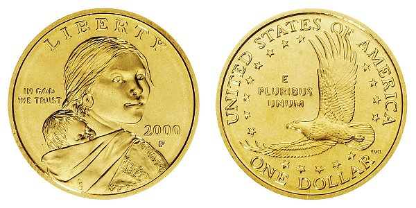 2000 P Sacagawea Dollar - Goodacre Presentation Finish