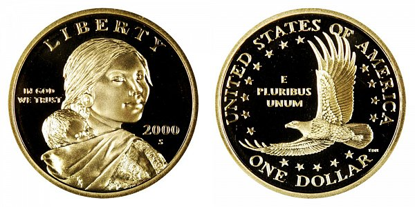 2000 S Sacagawea Dollar Golden Dollar Coin Value Prices