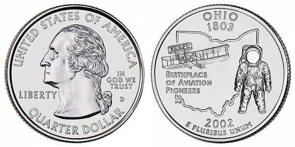 2002 D Ohio State Quarter