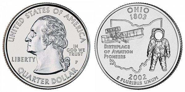 2002 P Ohio State Quarter