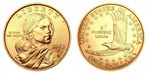 2002 P Sacagawea Dollar