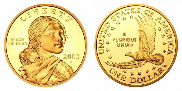 2003 S Sacagawea Dollar - Proof