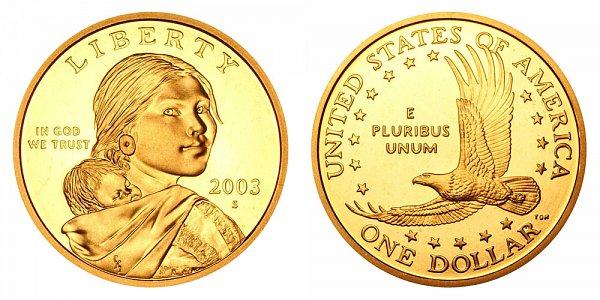 2003 S Sacagawea Dollar - Proof