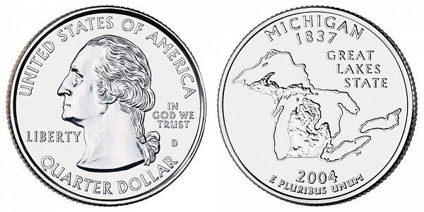 2004 D Michigan State Quarter