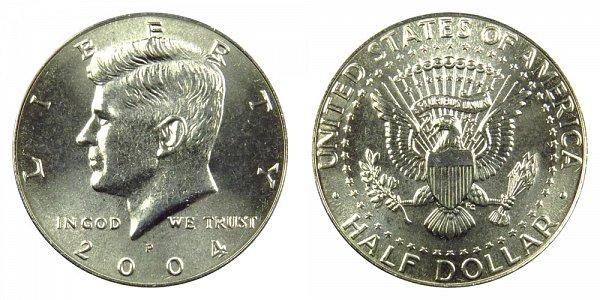 2004 P Kennedy Half Dollar