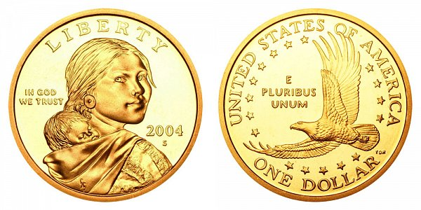 2004 S Sacagawea Dollar - Proof
