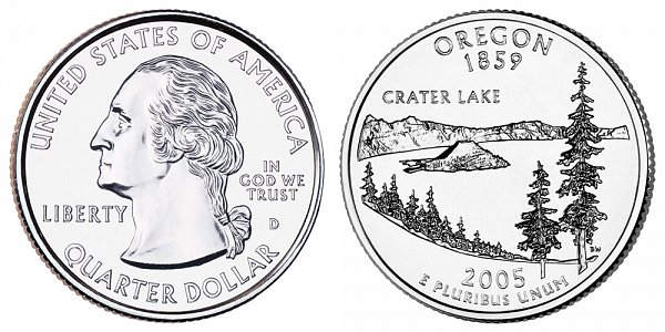 2005 D Oregon State Quarter