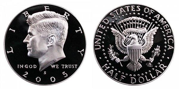 2005 S Silver Kennedy Half Dollar Proof