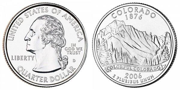 2006 D Colorado State Quarter