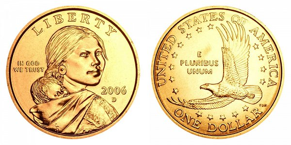 2006 D Sacagawea Dollar