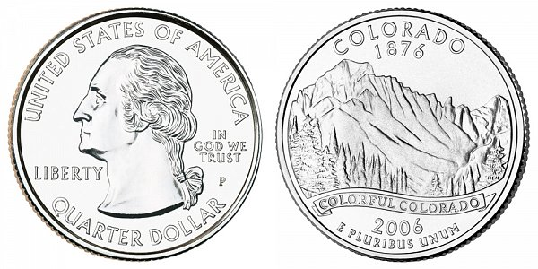 2006 P Colorado State Quarter