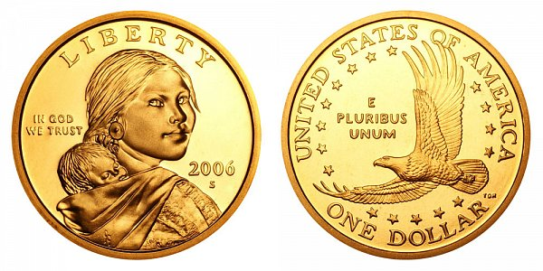 2006 S Sacagawea Dollar - Proof