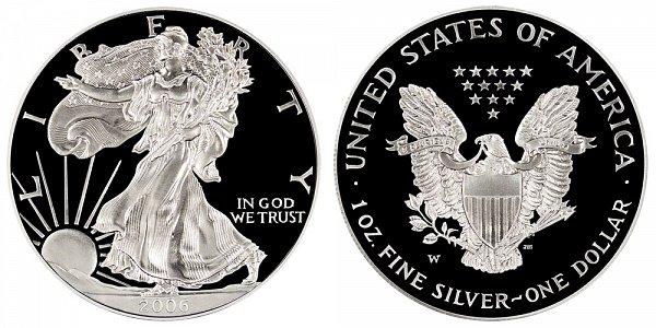 2006 W Proof American Silver Eagle