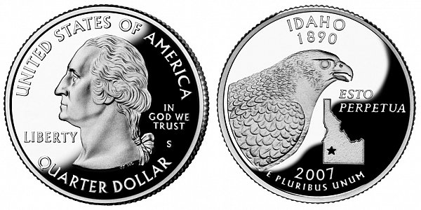 2007 Idaho Quarter