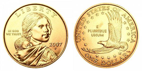 2007 P Sacagawea Dollar