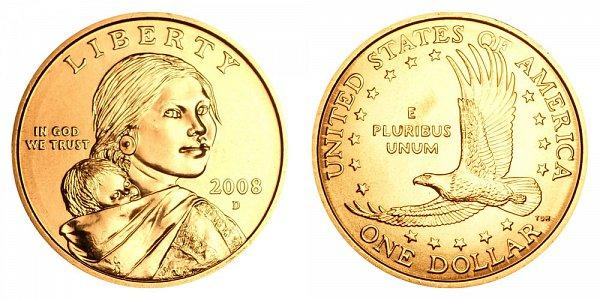 2008 D Sacagawea Dollar