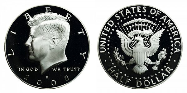 2008 S Kennedy Half Dollar Proof