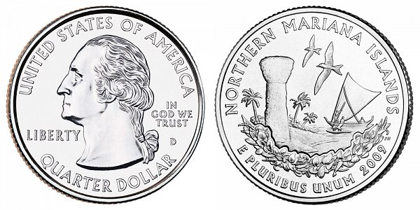 2009 D Northern Mariana Islands Quarter