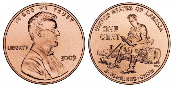 2009 D Lincoln Memorial Cent Formative Years Indiana