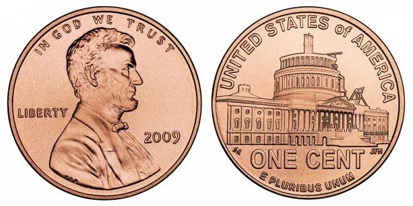 2009 Lincoln Bicentennial Cent - Presidency Penny