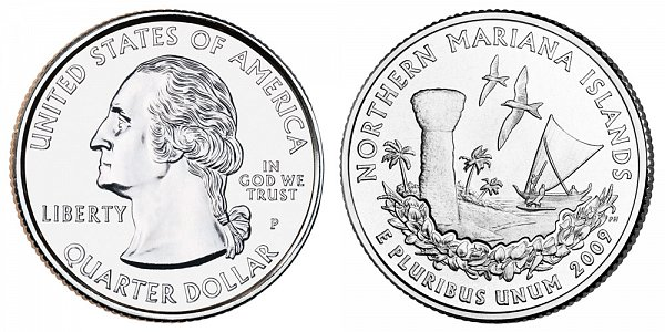 2009 P Northern Mariana Islands Quarter