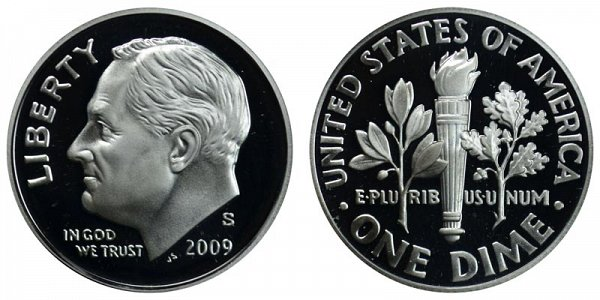 2009 S Roosevelt Dime Proof