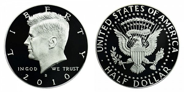 2010 S Kennedy Half Dollar Proof