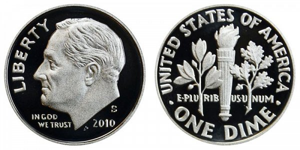 2010 S Roosevelt Dime Proof