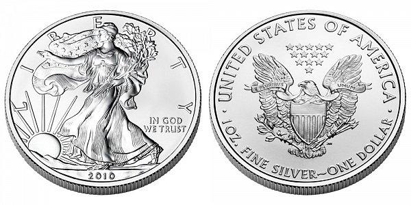 2010 Bullion American Silver Eagle