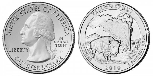 2010 Yellowstone National Park Quarter