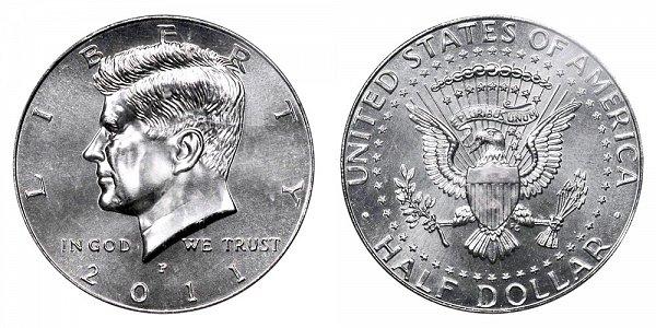 2011 P Kennedy Half Dollar